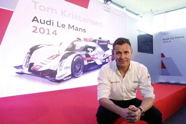 Audi factory driver Tom Kristensen ends unique professional care
