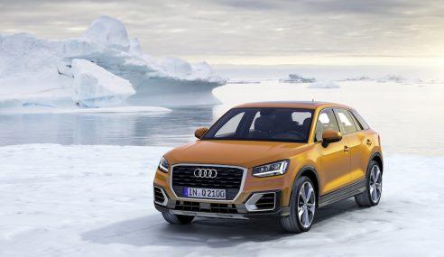 Audi Q2 : comme une crêpe !
