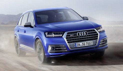 Audi SQ7 TDI : plus rapide qu'un jet ?