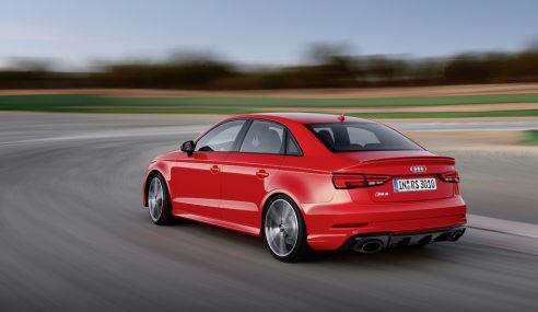 La berline compacte la plus puissante de son segment : Audi RS3 berline