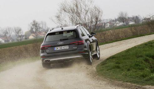 Audi lance la superbe  A4 allroad quattro