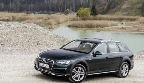 Avec l'Audi A4 Allroad, sortez des routes goudronnées