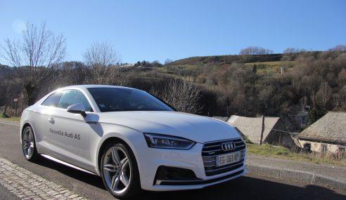 Essai Audi A5 Coupe 3.0 TDI 218 ch S-line : l'appel de la route