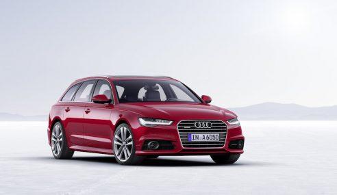 5 mécaniciens remontent une Audi A6 Avant entièrement désossée