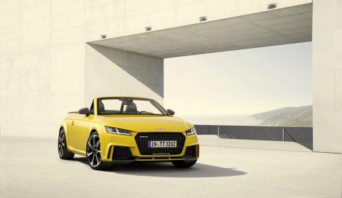 Audi TT RS Roadster : sport et décontraction