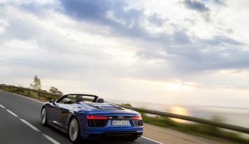 Audi R8 Spyder : difficile à rattraper