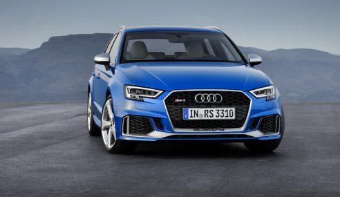 Audi RS3 : un nouveau look et 400 chevaux !