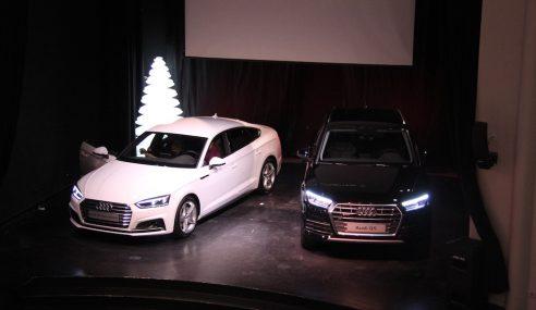 Découverte du nouveau Q5 et de la belle A5 Sportback chez Audi Sport Concept