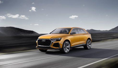 Audi Q8 Sport Concept : le futur commence maintenant