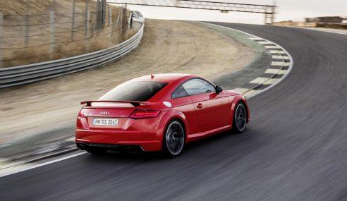 Addict à la vitesse ? L'Audi TT RS peut vous aider