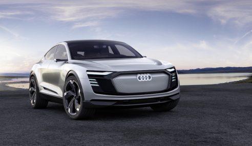 Audi e-tron Sportback concept, prévu pour 2019