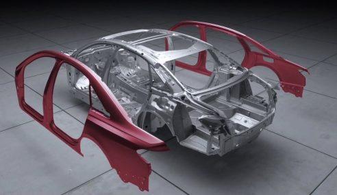 Audi A8 : un aperçu de sa nouvelle structure avant sa présentation le 11 juillet