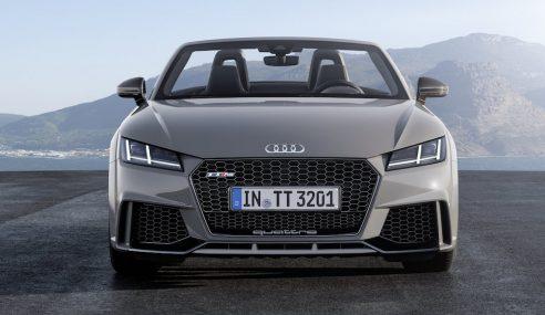 Audi TT RS : drag-race face à la concurrence