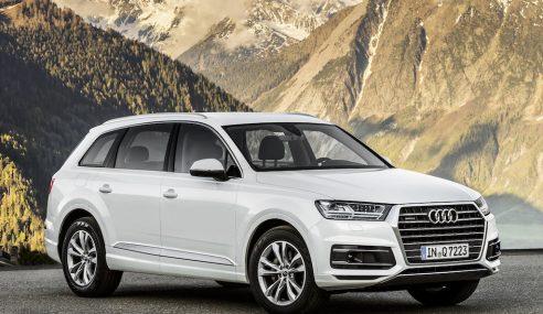 Nouvel Audi Q7 : ne jamais lâcher prise