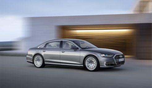 Nouvelle Audi A8 – Oubliez la science-fiction