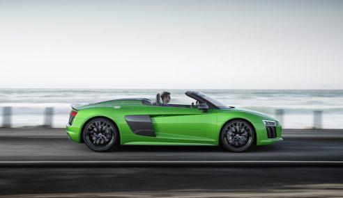 Audi R8 Spyder : Gardons notre âme d'enfant