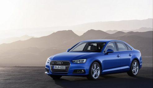 La belle Audi A4 vous assiste en permanence