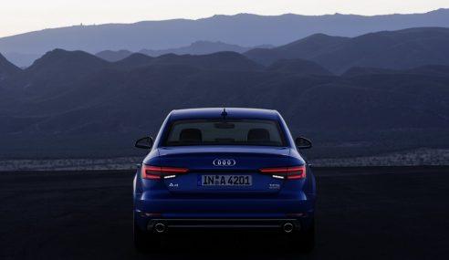 Présentation de la belle Audi A4 en Angleterre