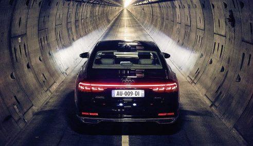 Un voyage hors du commun en Audi A8 #forgetthetime