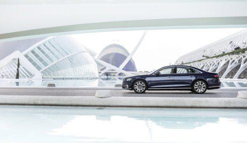 L'Audi A8 est la voiture la plus luxueuse de l'année
