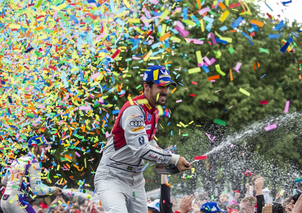 Formula E à la capitale, Audi finit sur le podium