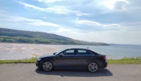Road-trip écossais en Audi A3 berline : une carte postale à chaque virage