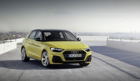 Nouvelle Audi A1 Sportback : racée et connectée