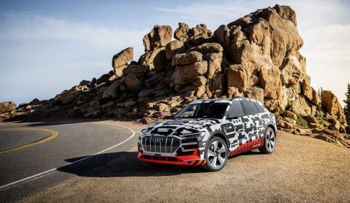 Future Audi e-tron quattro, l'autonomie est annoncée