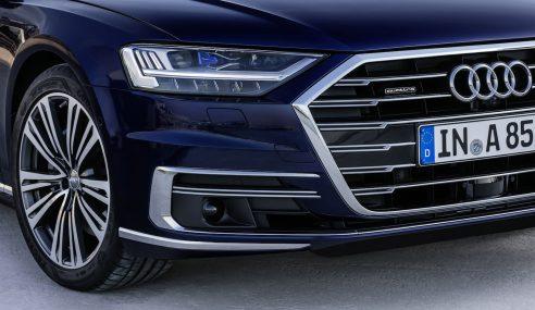 Ballade de nuit en Audi A8