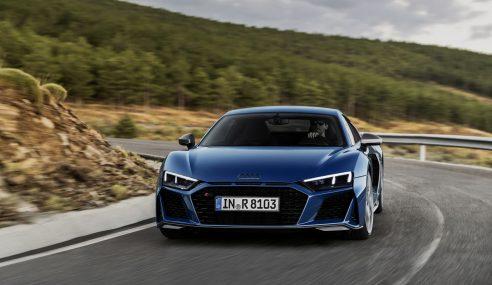 L'Audi R8 est restylée et s'affirme davantage