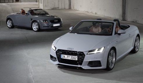 Mondial de l'Auto 2018 : retour sur les 20 ans de l'Audi TT