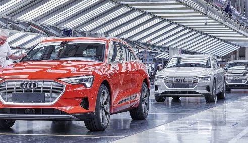 Audi e-tron quattro : 100% électrique, 100% qualité