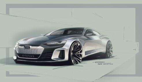 La gamme Audi e-tron à l'honneur au Superbowl