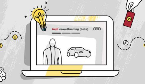 Audi utilise un système de crowdfunding pour dynamiser les idées