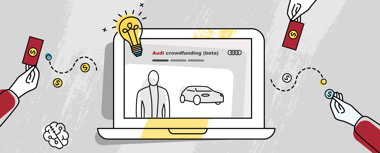Crowdfunding chez Audi