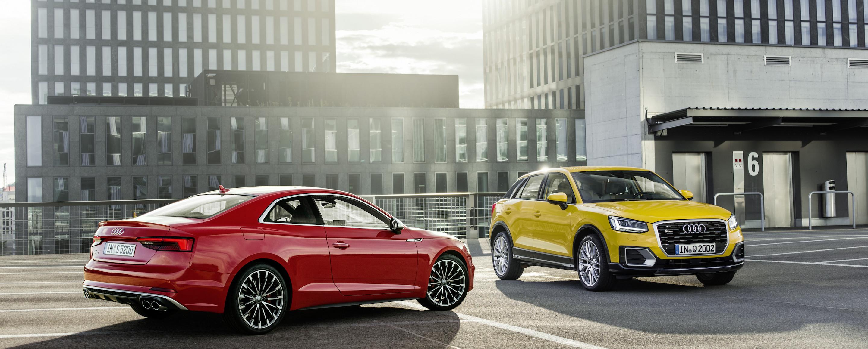 Audi S5 Coupe - Audi Q2