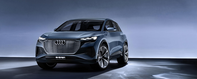 Audi Q4 e-tron concept - Avant