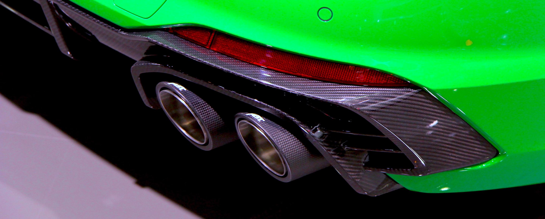 Audi RS4 Plus - Detail échappement