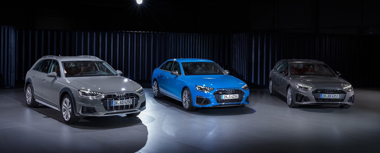 Audi A4 allroad quattro; Audi S4 Limousine TDI, Audi A4 Avant