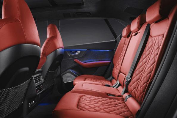 intérieur Arrière Audi SQ8