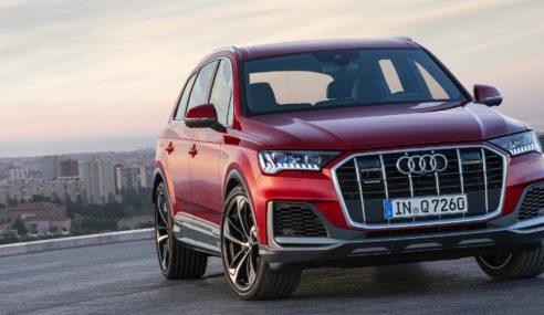 La belle Audi Q7 s'offre une beauté