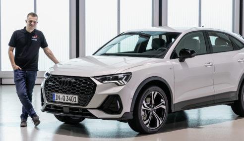 Découverte exclusive de la nouvelle Audi Q3 Sportback