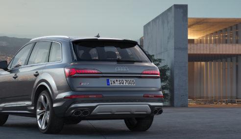 (Brève) Facelift Audi SQ7 TDi
