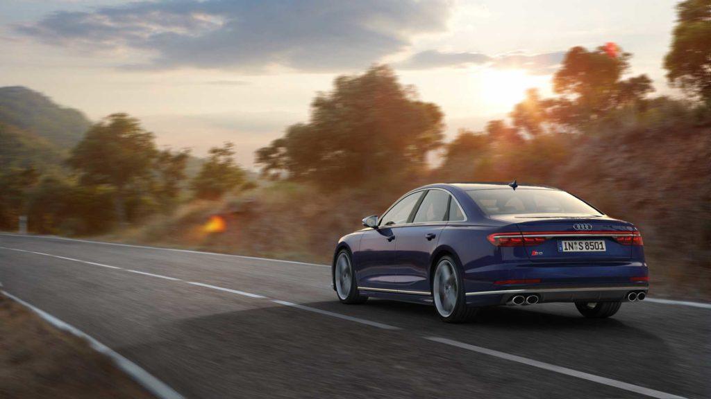 Audi S8 Dynamique 3/4 AR