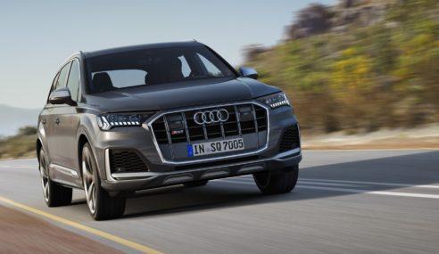 Audi SQ7 TDI : un restylage dynamique