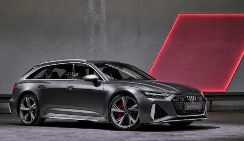 Nouvelle Audi RS6 Avant : bestiale