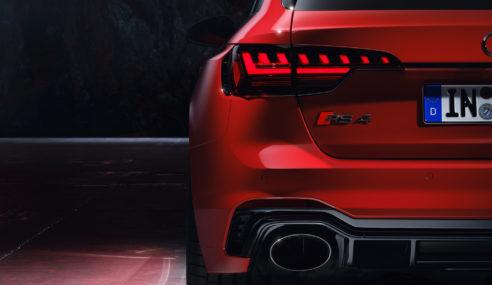 L'Audi RS 4 Avant se refait une beauté