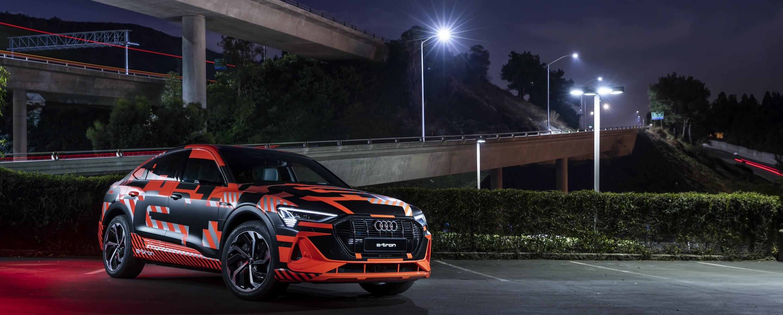 Audi e-tron Sportback: digital matrix LED headlight