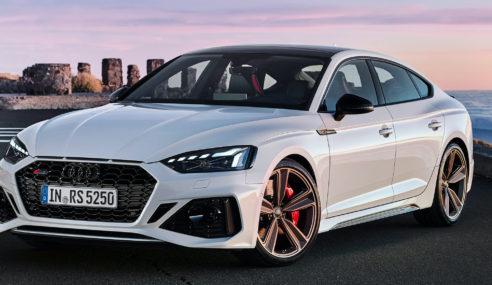 Nouvelles Audi RS 5 Coupé et Audi RS 5 Sportback : pour la forme