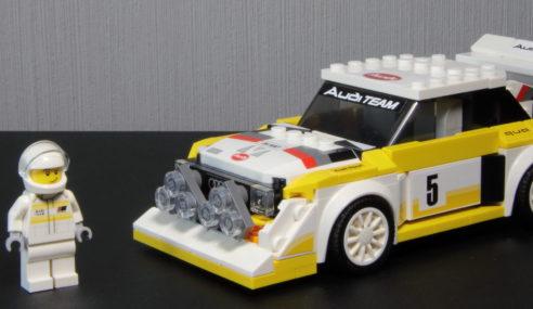 L'âge d'or du rallye revit avec Lego et Audi